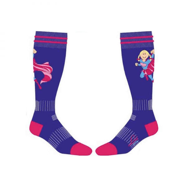 super girl performance socks